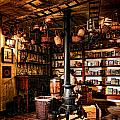 The General Store in my Basement Print by Olivier Le Queinec