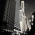 The Grace Building and the Chrysler Building - New York City Poster by Vivienne Gucwa