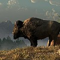 The Great American Bison Poster by Daniel Eskridge