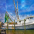 The Harbor II Print by Betsy A  Cutler
