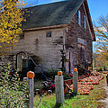The harvest is in Print by Jeff Folger