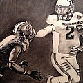 The Heismanziel Pose Print by Mark Hutton