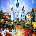 The Hours on Jackson Square Print by Diane Millsap