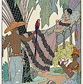 The idle beauty Poster by Georges Barbier