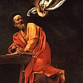 The Inspiration of Saint Matthew Print by PG REPRODUCTIONS