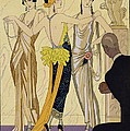 The Judgement of Paris Print by Georges Barbier
