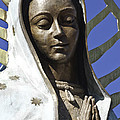 The Lady Prays Print by Terry Rowe