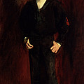 The Late Major E.c. Harrison As A Boy Print by John Singer Sargent