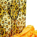 The Leopard Gift Bag Print by Diana Angstadt