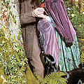 The Long Engagement Print by Arthur Hughes