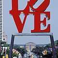 The Love Sculpture Poster by Carl Purcell