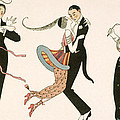 The Madness of the Day Print by Georges Barbier