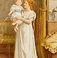 The Master of the House Print by George Goodwin Kilburne