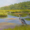 THE MILLWAY MARSH Print by Karol Wyckoff