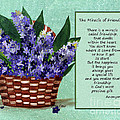 The Miracle of Friendship Poster by Barbara Griffin