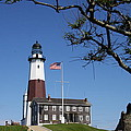 The Montauk Point Lighthouse Print by Christiane Schulze Art And Photography