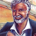 The Most Interesting Man in the World Print by Samantha Geernaert