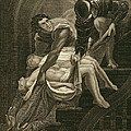 The Murder Of The Two Princes Print by James Northcote
