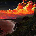 The Mussenden Temple - Ireland Print by Michael Rucker