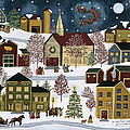 The Night Before Christmas Poster by Medana Gabbard