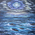 The Ocean Sings the Sky Listens 2 Poster by Cheryl Pettigrew