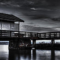 The Old Boat House Print by Erik Brede