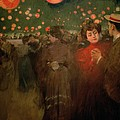 The Open Air Party Print by Ramon Casas i Carbo