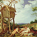 The Parable of the Wheat and the Tares Print by Abraham Bloemaert