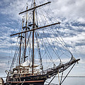 The Peacemaker Tall Ship Poster by Dale Kincaid