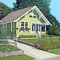 The Pickles house Print by Gary Giacomelli