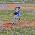 The Pitcher Digital Art Poster by Thomas Woolworth