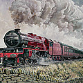 The Princess Elizabeth Storms North in All Weathers Print by David Nolan