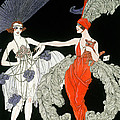 The Purchase  Print by Georges Barbier