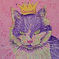 The Queen Poster by Rhonda Leonard
