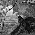 The rain begins to fall Print by Gustave Dore