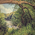 The River Severn at Buildwas Print by Christopher and Amanda Elwell