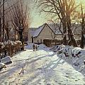 The Road Home by Peder Monsted