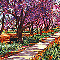 The Road to Giverny Print by David Lloyd Glover
