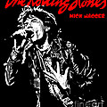 The Rolling Stones No01 Poster by Caio Caldas