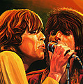 The Rolling Stones Print by Paul Meijering