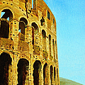 The Roman Colosseum Poster by Donna Proctor