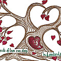The Roots of Love Poster by Minnie Lippiatt