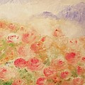 The Rose Bush Print by Laurie D Lundquist