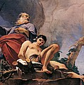 The sacrifice of Isaac Poster by Giovanni Battista Tiepolo
