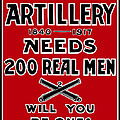 The Second Artillery Needs 200 Real Men Print by War Is Hell Store