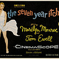The Seven Year Itch Print by Nomad Art And  Design