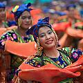 The Sinulog Festival Philippines 08 Print by Justin James Wright
