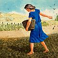 The Sower of the Seed Print by Clive Uptton