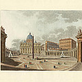 The St. Peter's Cathedral in Rome Print by Splendid Art Prints