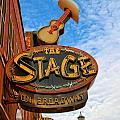 The Stage On Broadway Print by Dan Sproul